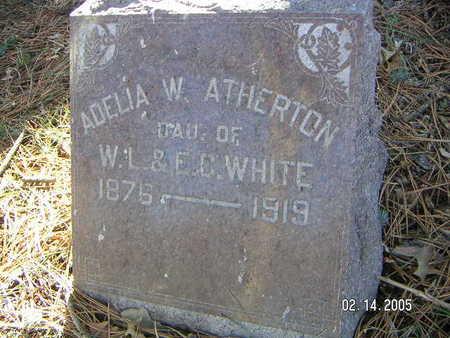 ATHERTON, ADELIA W. - Polk County, Iowa | ADELIA W. ATHERTON