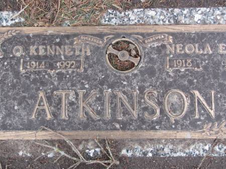 ATKINSON, O.  KENNETH - Polk County, Iowa   O.  KENNETH ATKINSON