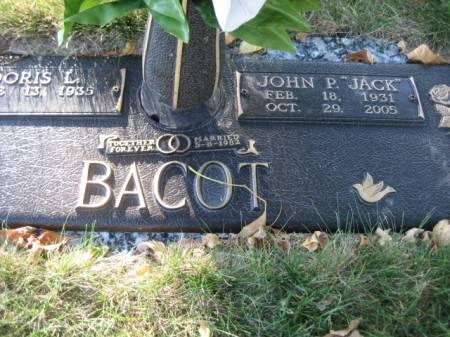 BACOT, JOHN P