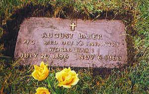 BAIER, AUGUST - Polk County, Iowa | AUGUST BAIER