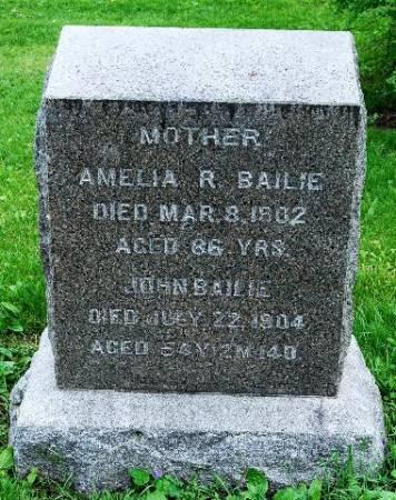 GILMORE BAILIE, AMELIA (EMILY) RUTH - Polk County, Iowa   AMELIA (EMILY) RUTH GILMORE BAILIE