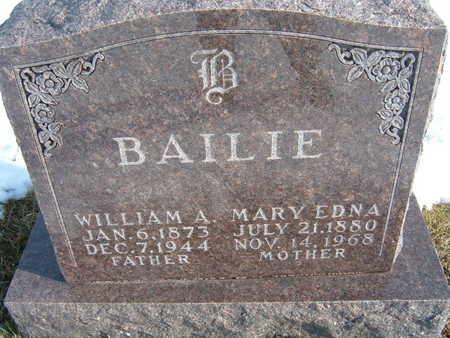 BAILIE, MARY EDNA - Polk County, Iowa | MARY EDNA BAILIE