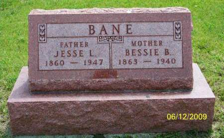 BANE, JESSE - Polk County, Iowa   JESSE BANE