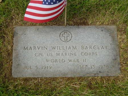 BARCLAY, MARVIN - Polk County, Iowa   MARVIN BARCLAY