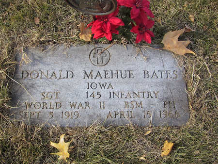BATES, DONALD M. - Polk County, Iowa | DONALD M. BATES