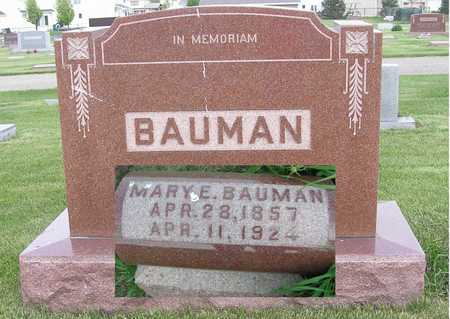 BAUMAN, MARY - Polk County, Iowa | MARY BAUMAN