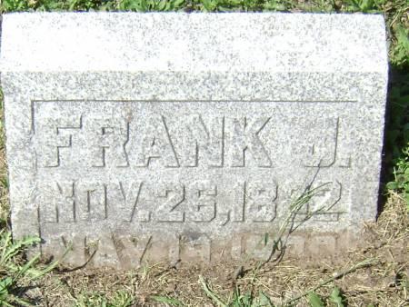 BENNETT, FRANK J - Polk County, Iowa | FRANK J BENNETT