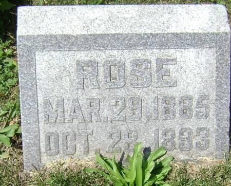 BENNETT, ROSE - Polk County, Iowa   ROSE BENNETT