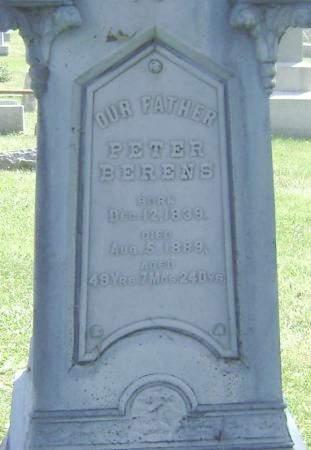 BERENS, PETER - Polk County, Iowa | PETER BERENS