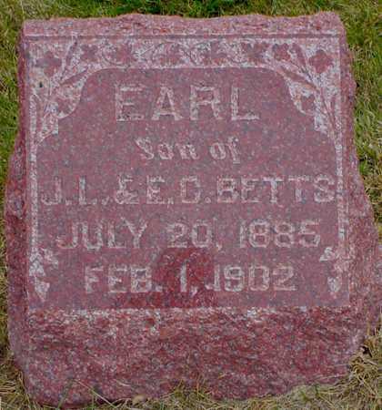BETTS, EARL - Polk County, Iowa | EARL BETTS
