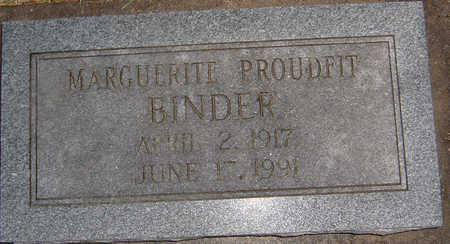 BINDER, MARGUERITE - Polk County, Iowa | MARGUERITE BINDER