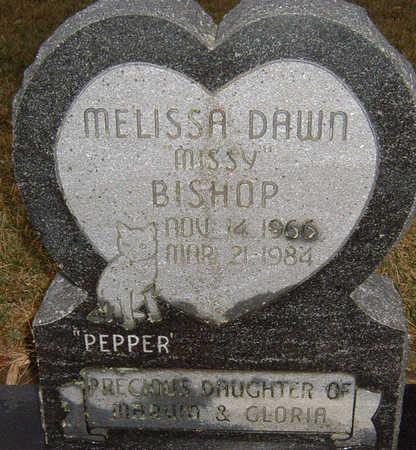 BISHOP, MELISSA - Polk County, Iowa   MELISSA BISHOP