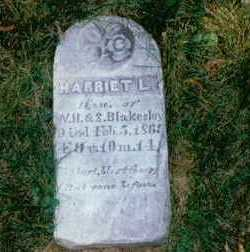 BLAKESLEY, HARRIET L. - Polk County, Iowa   HARRIET L. BLAKESLEY
