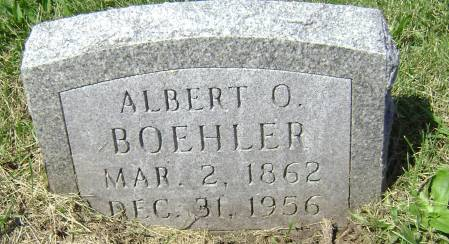 BOEHLER, ALBERT O - Polk County, Iowa   ALBERT O BOEHLER