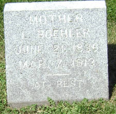BOEHLER, L (MOTHER) - Polk County, Iowa | L (MOTHER) BOEHLER