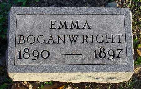 BOGANWRIGHT, EMMA - Polk County, Iowa   EMMA BOGANWRIGHT