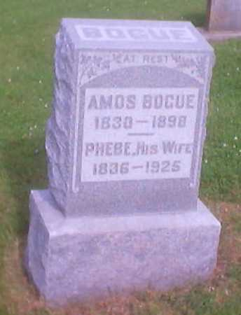 BOGUE, AMOS - Polk County, Iowa | AMOS BOGUE