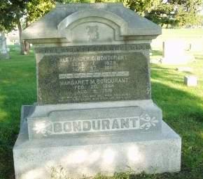 BROOKS BONDURANT, MARGARET M - Polk County, Iowa | MARGARET M BROOKS BONDURANT