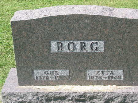 BORG, ETTA - Polk County, Iowa | ETTA BORG
