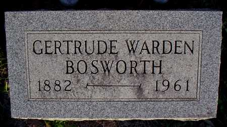 WARDEN BOSWORTH, GERTRUDE - Polk County, Iowa | GERTRUDE WARDEN BOSWORTH