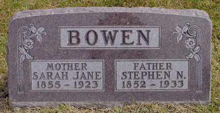 BOWEN, STEPHEN N. - Polk County, Iowa | STEPHEN N. BOWEN