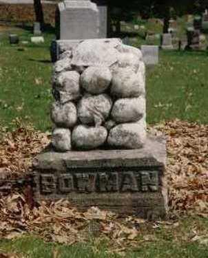 BOWMAN, FAMILY - Polk County, Iowa   FAMILY BOWMAN