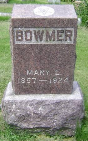 BOWMER, MARY E. - Polk County, Iowa | MARY E. BOWMER