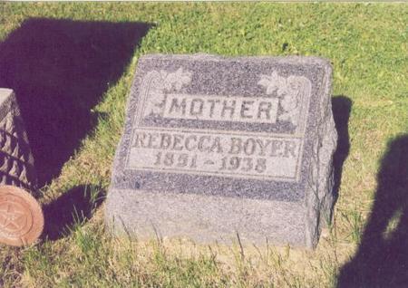 BOYER, REBECCA - Polk County, Iowa | REBECCA BOYER
