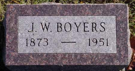 BOYERS, J. W. - Polk County, Iowa   J. W. BOYERS