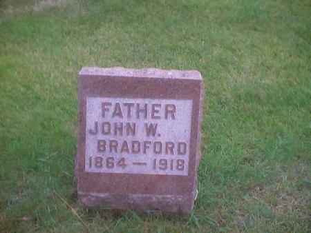 BRADFORD, JOHN W. - Polk County, Iowa | JOHN W. BRADFORD