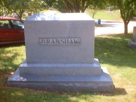 BRADSHAW, MAIN STONE - Polk County, Iowa | MAIN STONE BRADSHAW