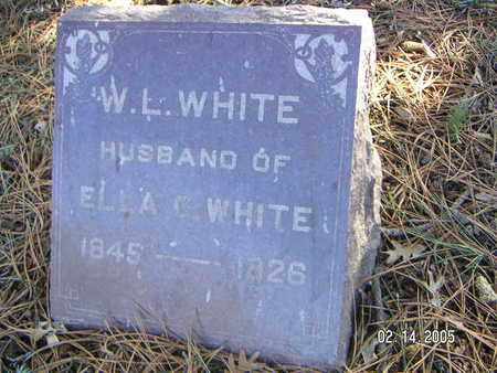 WHITE, W. L. - Polk County, Iowa | W. L. WHITE