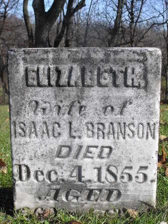 BRANSON, ELIZABETH - Polk County, Iowa | ELIZABETH BRANSON