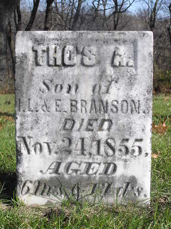 BRANSON, THOMAS A. - Polk County, Iowa | THOMAS A. BRANSON