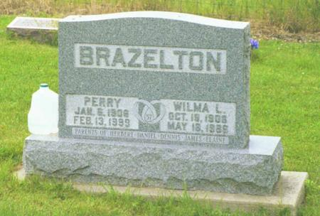 BRAZELTON, PERRY B. - Polk County, Iowa | PERRY B. BRAZELTON