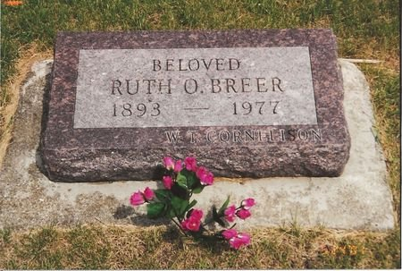 BREER, RUTH ORILLIA - Polk County, Iowa | RUTH ORILLIA BREER