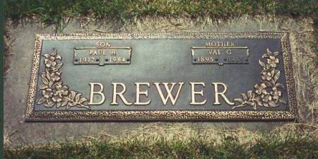 BREWER, VAL G. - Polk County, Iowa | VAL G. BREWER