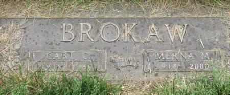 BROKAW, MERNA MAXINE - Polk County, Iowa   MERNA MAXINE BROKAW