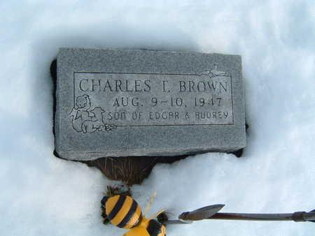 BROWN, CHARLES T. - Polk County, Iowa | CHARLES T. BROWN
