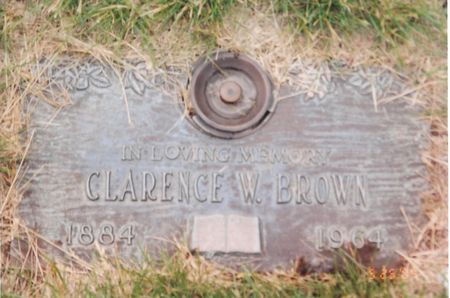 BROWN, CLARENCE W. (