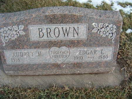 BROWN, EDGAR L. - Polk County, Iowa | EDGAR L. BROWN