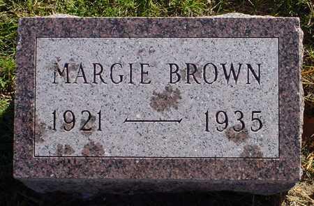 BROWN, MARGIE - Polk County, Iowa   MARGIE BROWN