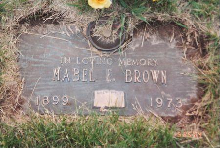 MARTIN BROWN, MABEL ETHEL - Polk County, Iowa | MABEL ETHEL MARTIN BROWN