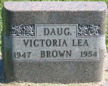 BROWN, VICTORIA LEA - Polk County, Iowa   VICTORIA LEA BROWN