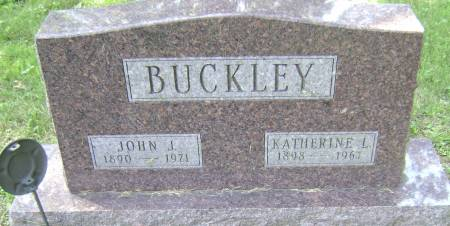 BUCKLEY, JOHN J - Polk County, Iowa   JOHN J BUCKLEY