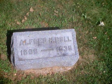 BULL, ALFRED H. - Polk County, Iowa   ALFRED H. BULL
