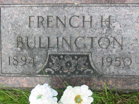 BULLINGTON, FRENCH H. - Polk County, Iowa | FRENCH H. BULLINGTON