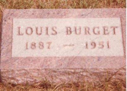 BURGET, LOUIS - Polk County, Iowa | LOUIS BURGET