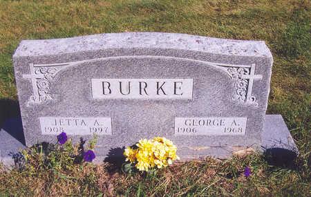 BURKE, GEORGE A. - Polk County, Iowa   GEORGE A. BURKE