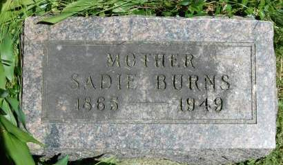 BURNS, SADIE - Polk County, Iowa | SADIE BURNS